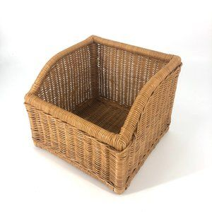 Boho Woven Storage Basket